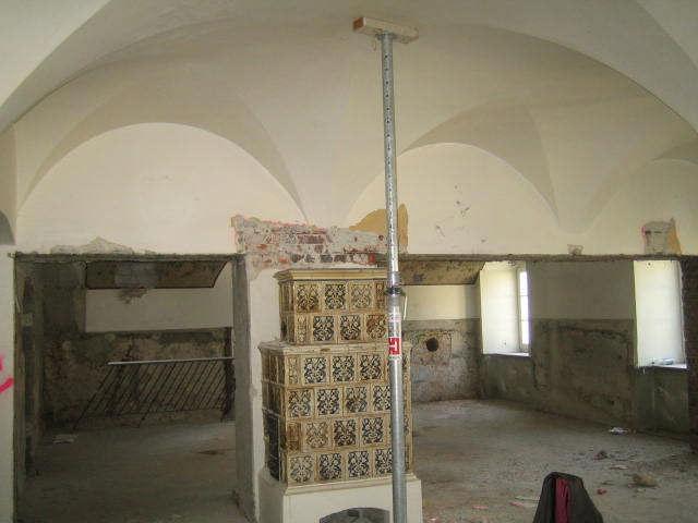 Denkmalgeschütztes kreuzgewölbe