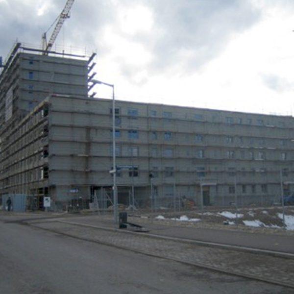 Gruppe Ingenieurbau beratende Ingenieure. Tragwerkspalnung Hochbau, Tiefbau und Bauen im Bestand. Neubau Hirschgarten in München