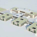 Statik, Planung und ingenieurtechnische Kontrolle für Neubau kbo-Inn-Salzach-Klinikum und RoMed Klinik Wasserburg. Visualisierung