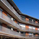 Statik, Planung und ingenieurtechnische Kontrolle für RoMed Klinik Prien am Chiemsee 1. BA Neubau Seebettenhaus. Außenansicht