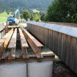 Statik und Bewerhungsplanung für Tegelbergbrücke in der Bauphase mit Stahlträgern