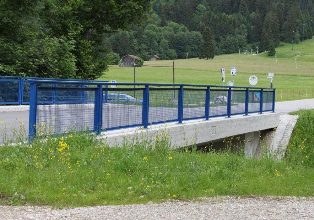 Statik und Bewerhungsplanung für Straßenbrücke zur Tegelbergstation über die Pöllat – Gemeinde Schwangau