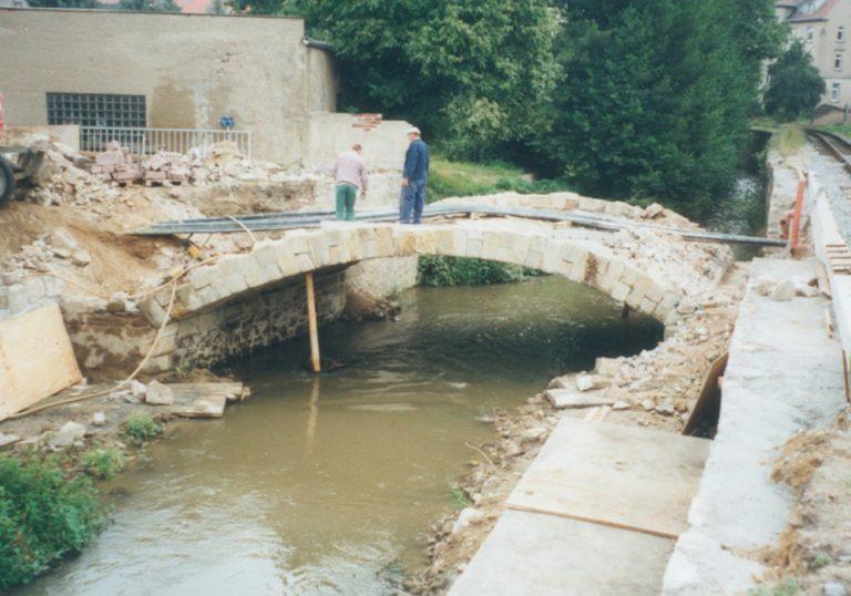 Sanierung Brücke Oschatz