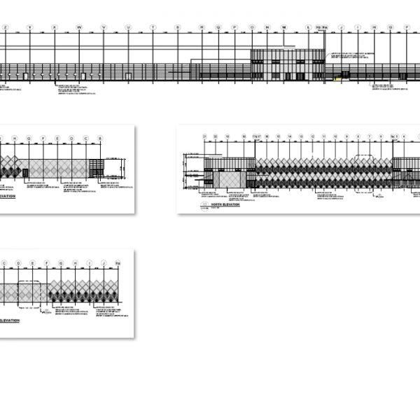 Beratende Ingenieure Tragwerksplanung für Pearl GTL Project in Ras Laffan State of Qatar. Neubau eines Büro- und Verwaltungsgebäudes aus Stahlbeton und Spannbeton. Pläne